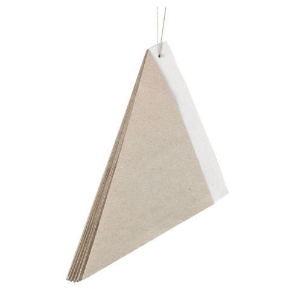 Cône papier kraft ingraissable intérieur blanc 6,4g Par 500 unités