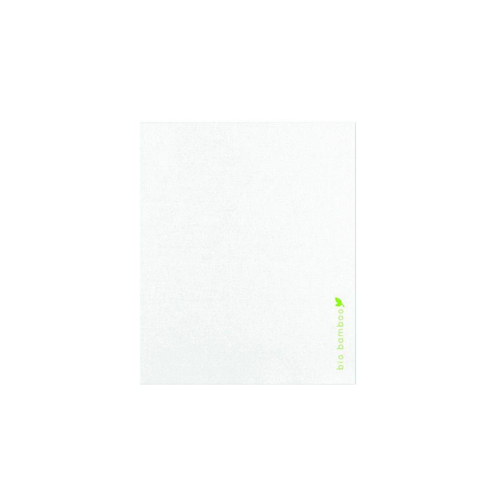 Serviette essuie-main blanche en cellulose 30 x 40 cm Par 35