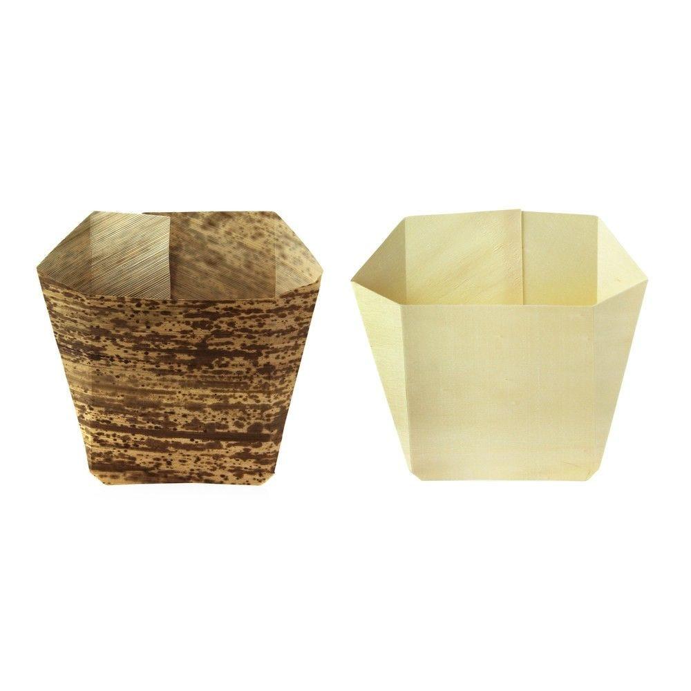 Pochette frite bois 12,8 x 4 x 13 cm Par 25