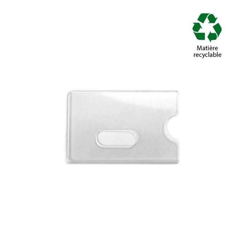 Etui-carte PVC pour 1 carte (lot de 100)