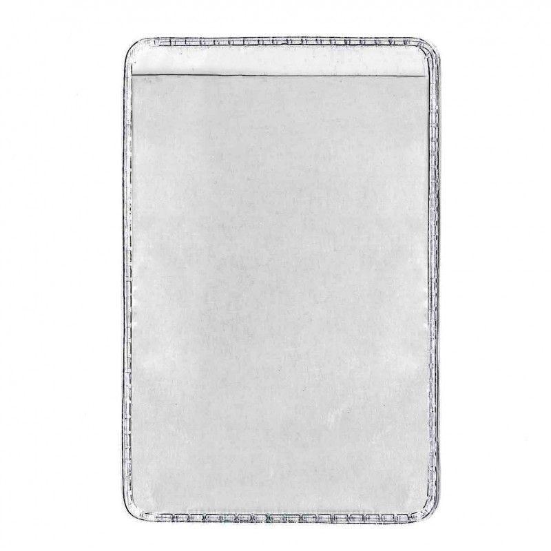 Etui-carte transparent - Ouverture latérale (lot de 100)