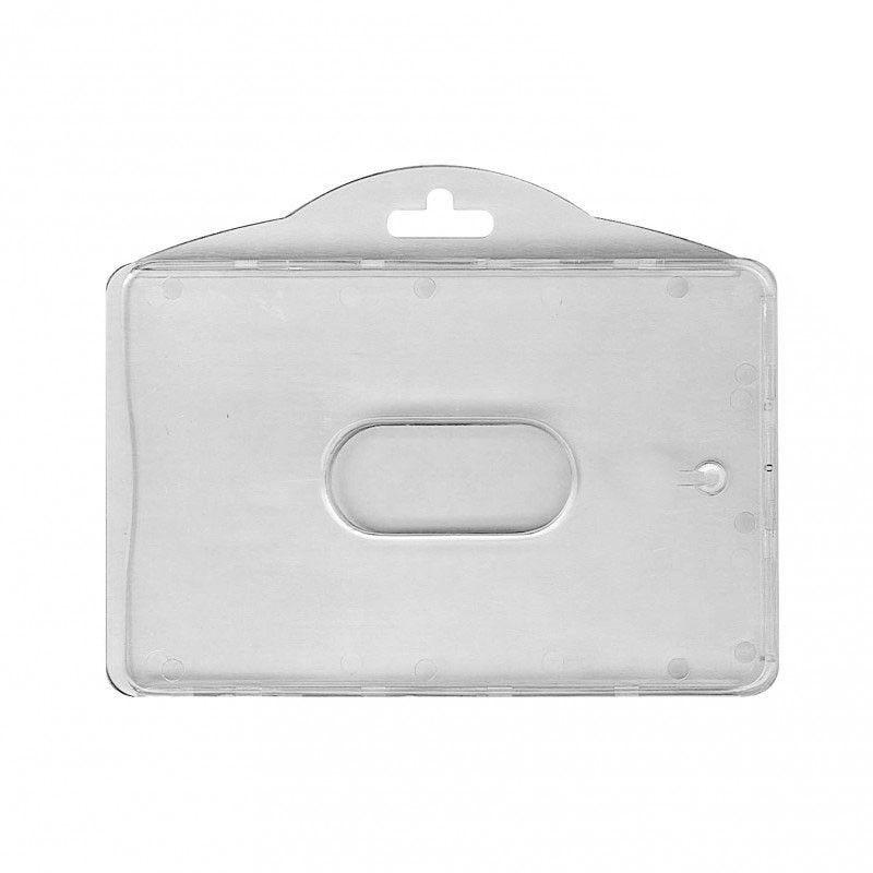 Porte-badge avec séparation - Horizontal (lot de 100)
