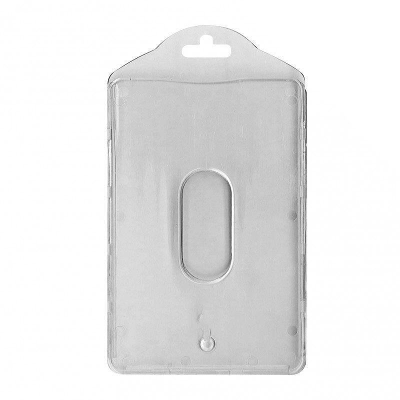 Porte-badge avec séparation - Vertical (lot de 100)