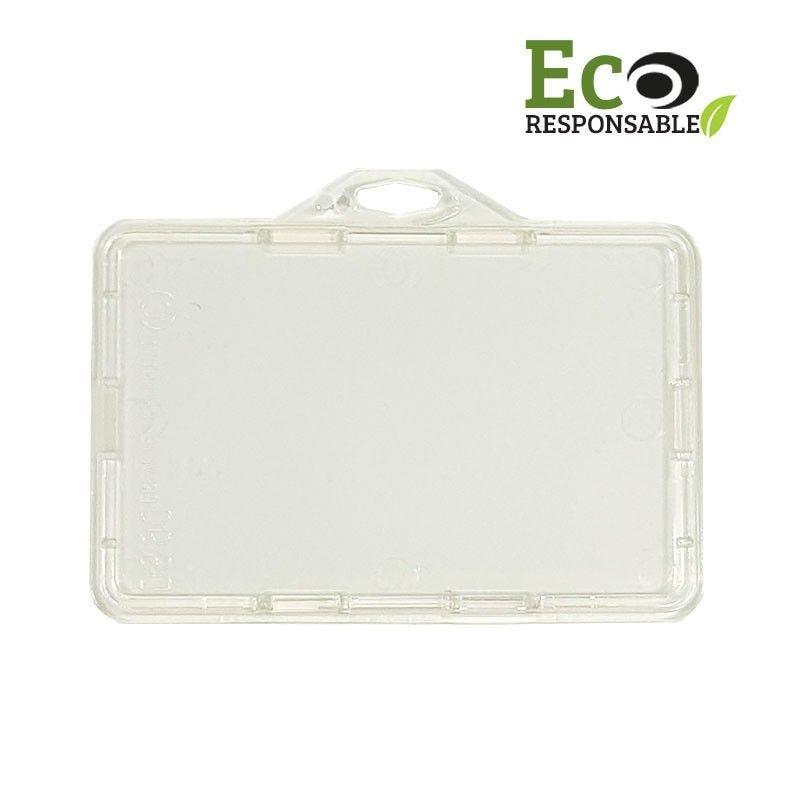 Porte badge sécuritaire éco-responsable - IDS90-ECO - Horizontal (lot de 100)