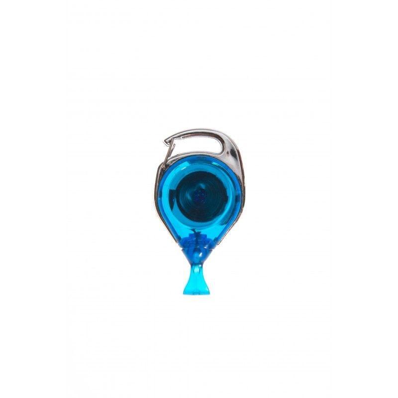 Enrouleur double fixation avec attache anti-rotation - Bleu (lot de 100)