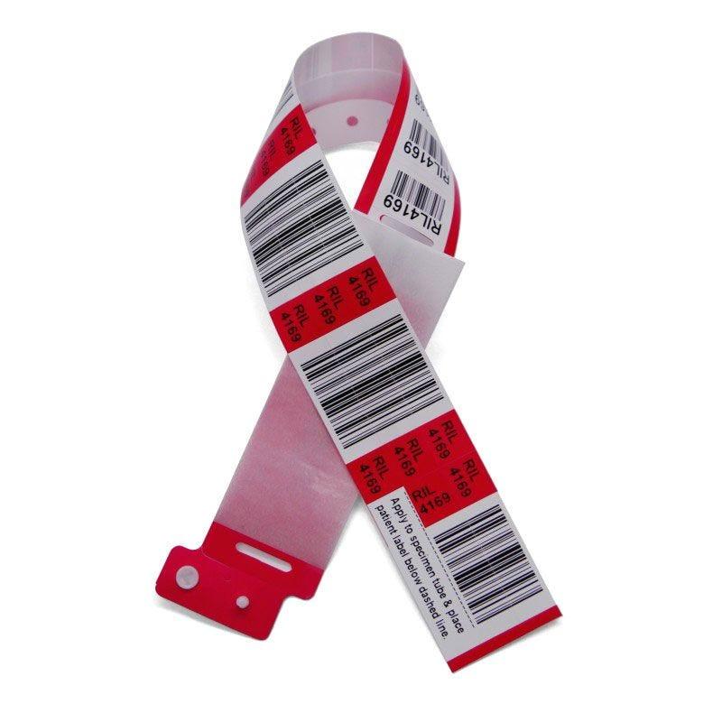 Bracelet Hôpital Barcode Plus (lot de 100)