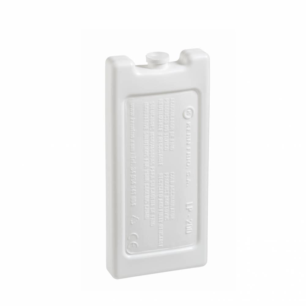 Accumulateurs de froid - Gel pack rigides 200g 0°C - 16,5 x 7,4 x 2 cm - Par 36
