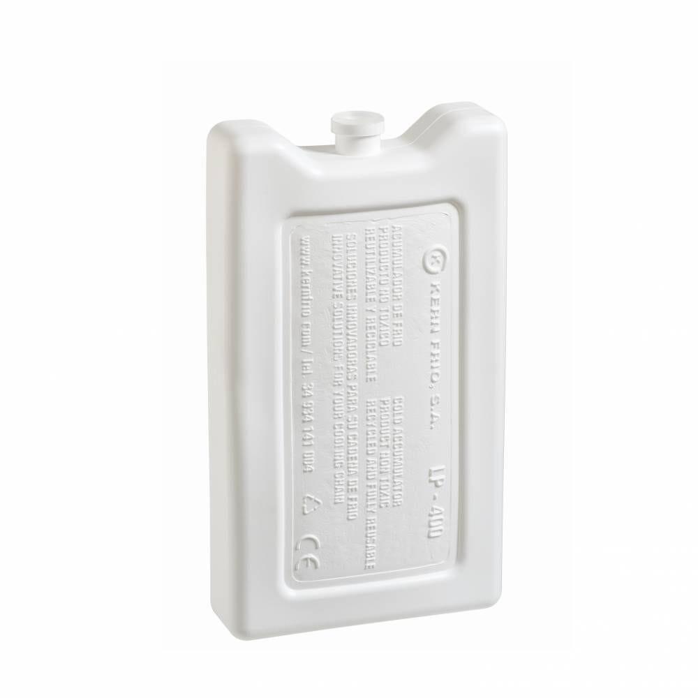 Accumulateurs de froid - Gel pack rigides 400g 0°C - 16,5 x 9,1 x 3,1cm - Par 21