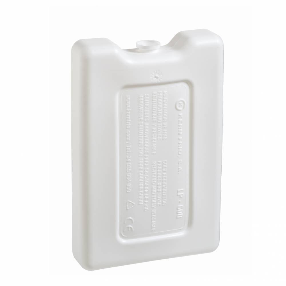Accumulateurs de froid - Gel pack rigides 600g 0°C - 17,9 x 11,8 x 3,6 cm Par 14