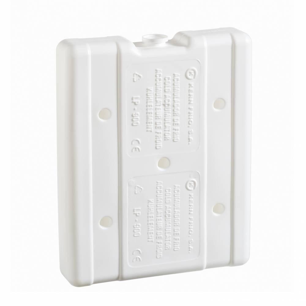 Accumulateurs de froid - Gel pack rigides 900g 0°C - 17,9x 14,3x 3,6 cm - Par 12