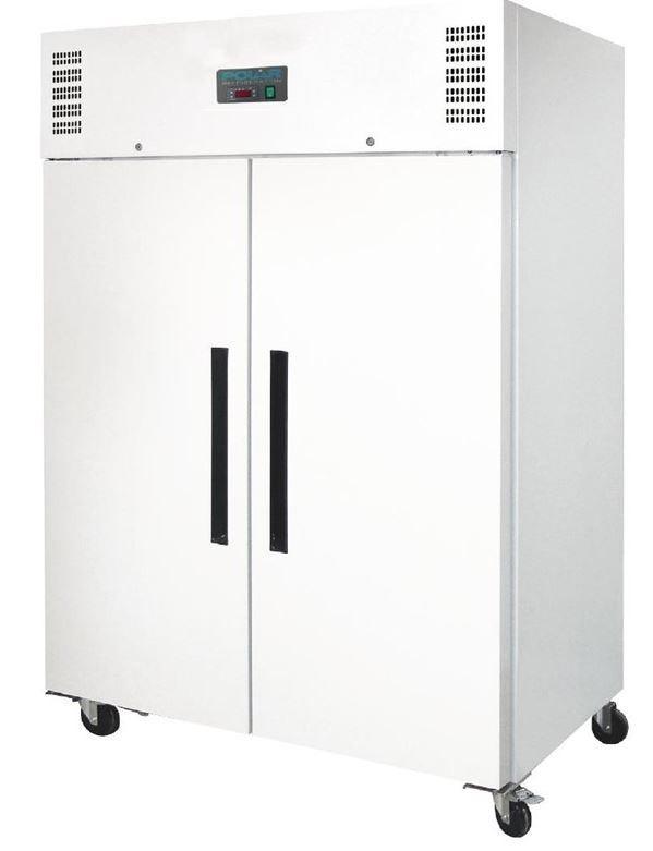 Armoire réfrigérée négative GN double porte Polar blanche Série G 1200L