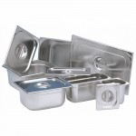 Bac gastronorme inox 1/6 ht 20 cm