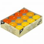 Chauffe-plats Ø 38 mm · 16 mm ''jaune, orange, bornéo'' par 192