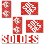 Kit affiches soldes Traditionnel - pack 2