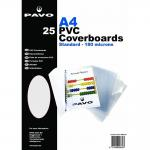 plats de Couverture Reliure A4 PVC Transparent, 0,18 mm - par lot de 25