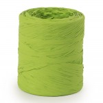 Raphia synthétique vert anis 15 mm x 200 m