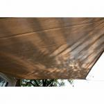 Voile d'ombrage - Rectangle - 3 x 4m sable