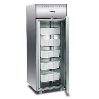 Armoire r frig r e gn 1 1 inox casiers pour poissons for Armoire cuisine inox