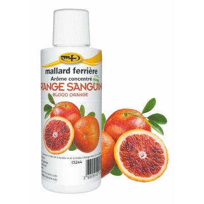 Arôme orange zeste (sanguine) 125 ml-Arômes, colorants alimentaires