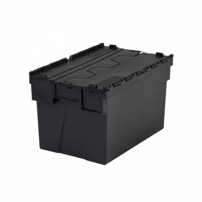 Bac navette anthracite 365 x 600 x 400 mm 65 litres