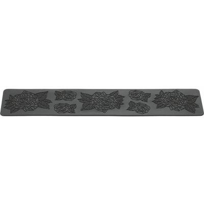 Bande silicone 40 x 8 cm roses - trd14-Thermomètre, balance, moule, douille