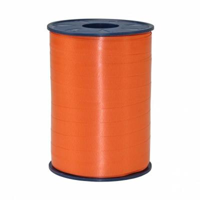 Bolduc standard satiné 10 mm x 250 m orange-Bolduc