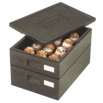 Box empilable 60 x 40 x 12 cm-Container isotherme
