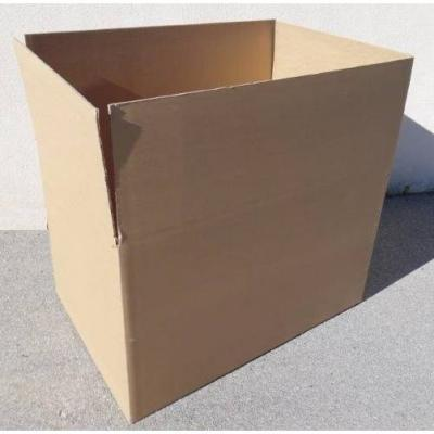 Caisse double cannelure brune - dim. Int. 1180 x 780 x 770 mm - par 80-Cartonnage et cerclage