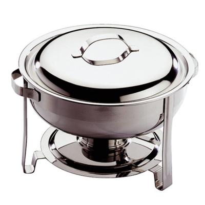 Chafing dish rond eco inox-Maintien au chaud