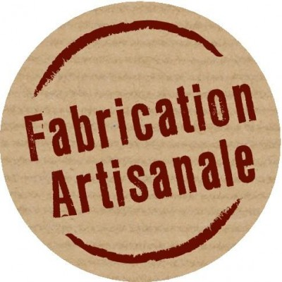 Etiquette imprim e fabrication artisanale 3 cm x 500 for Fabrication d un four a pain artisanal