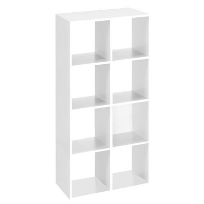 meuble biblioth que cases blanc mobilier de bureau. Black Bedroom Furniture Sets. Home Design Ideas