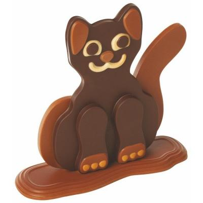 Moule choco lucas le chat - kt106-Ustensile fabrication chocolat