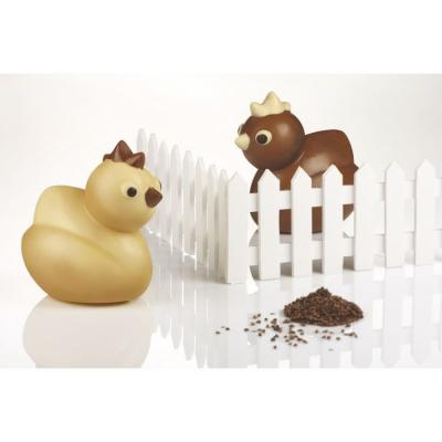 Moule choco poussin - kt116-Ustensile fabrication chocolat