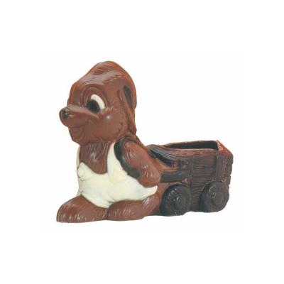 Moule pour chocolat lapin charette dimensions 180 x 140 mm-Ustensile fabrication chocolat