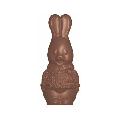 Moule pour chocolat lapin - dimensions 150 x 65 mm-Ustensile fabrication chocolat