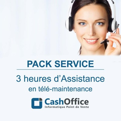 Pack de 3h d'assistance en télémaintenance-Formations et services