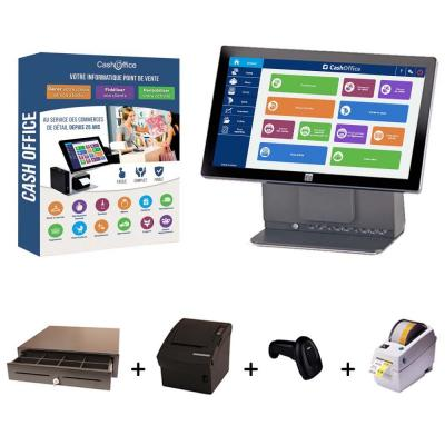 Pack encaissement cash office tactile 2 spécial solderies