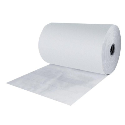Papier thermoscellable blanc largeur 35cm bobine de 10 kg-Papier ingraissable