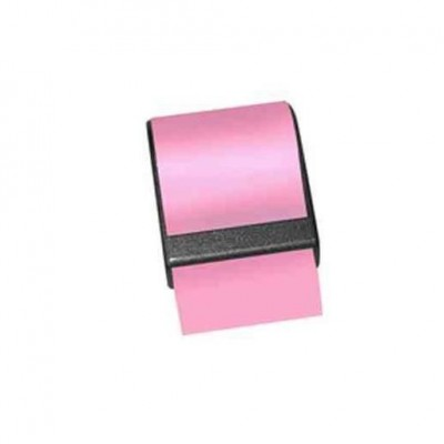 Recharge pour dévidoir de notes 10 m x 60 mm rose-Notes repositionnables
