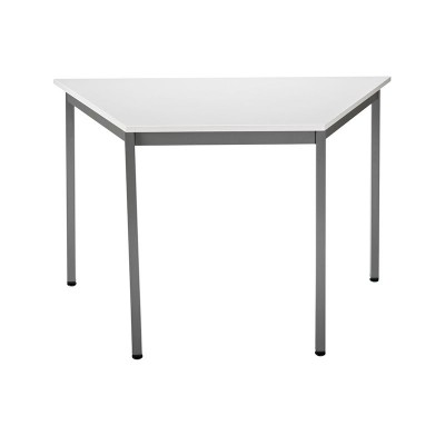 Table de r union modulaire forme trap ze 120x60 cm gris anthracite mobilier de bureau - Table de reunion modulable ...