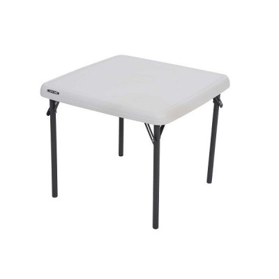 Table pliante carrée enfant  61x61 cm  - par 2-Table pliante de marché