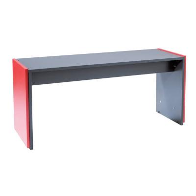 Table réhausse Banko anthracite 120x44x56cm-Mobilier mural