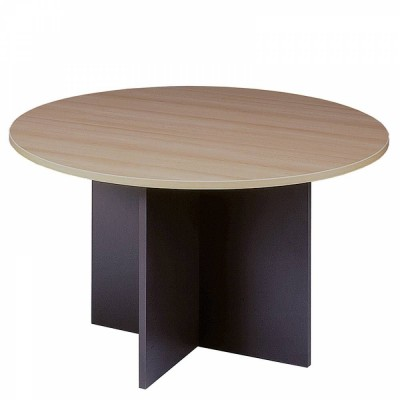 Table ronde ø 120 cm hêtre/anthracite-Bureau