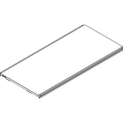 Tablette S50 monobloc 1000x470mm-Gondole magasin