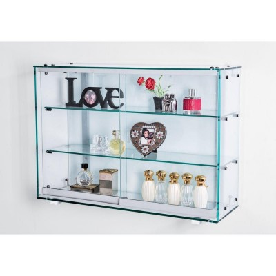 vitrine murale fond verre s rigraphi vitrines d. Black Bedroom Furniture Sets. Home Design Ideas
