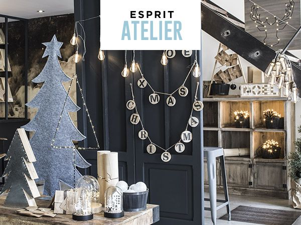 Décoration Noël Collection Esprit Atelier