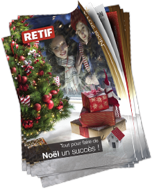 Catalogue de Noël RETIF 2014
