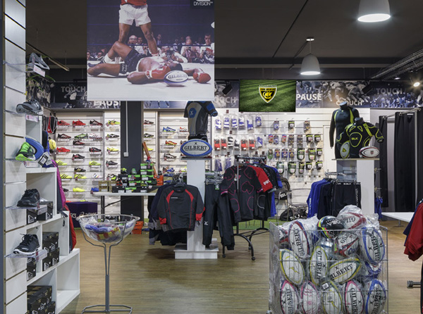 Agencement rugbystore